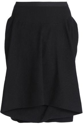RICK OWENS Layered wool shorts