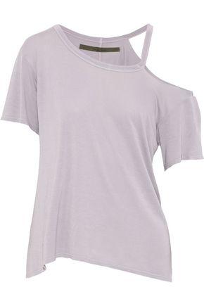 ENZA COSTA Cutout jersey top
