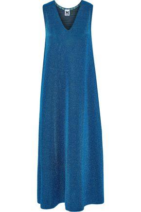 M MISSONI Metallic knitted midi dress