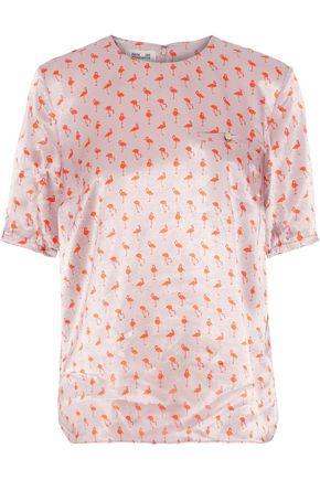BAUM UND PFERDGARTEN Mey printed satin blouse