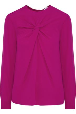 M MISSONI Twisted crepe blouse