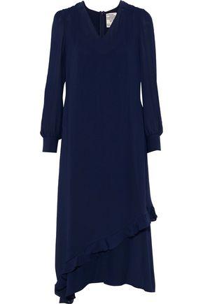 BAUM UND PFERDGARTEN Abbot ruffle-trimmed chiffon midi dress