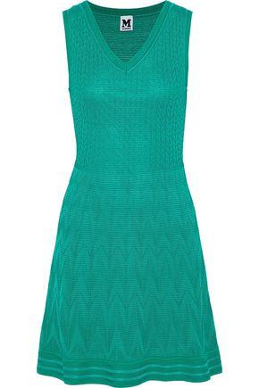 M MISSONI Metallic crochet cotton-blend dress