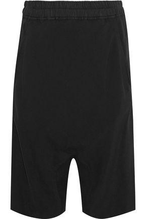 RICK OWENS Crepe shorts