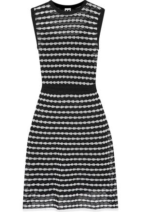 M MISSONI Metallic knitted cotton-blend dress