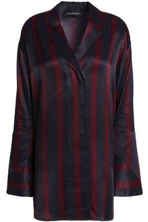 BY MALENE BIRGER Striped satin shirt