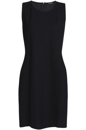 ANN DEMEULEMEESTER Wool-blend crepe dress