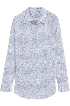 EQUIPMENT Printed silk-crepe shirt