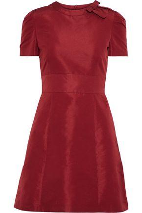 REDValentino Bow-embellished faille mini dress