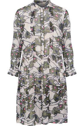 BAUM UND PFERDGARTEN Adelheid floral-print georette mini dress