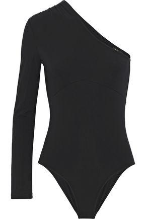 MAJE One-shoulder stretch-jersey bodysuit