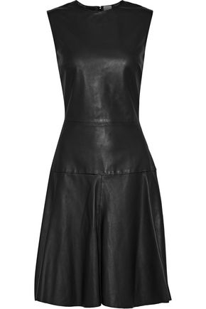 Avril Leather Dress by Iris & Ink