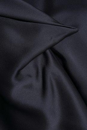 CHALAYAN Draped satin blouse