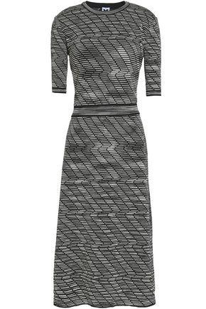 M MISSONI Jacquard-knit midi dress