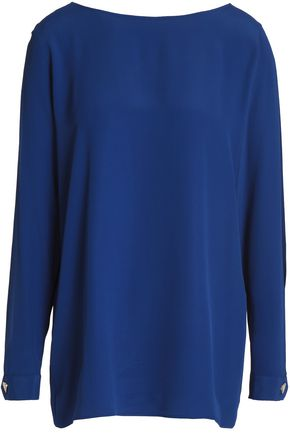 LOVE MOSCHINO Cutout crepe blouse