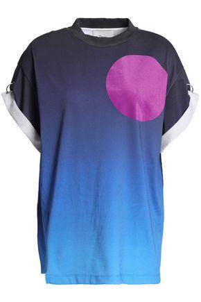 3.1 PHILLIP LIM Flocked dégrad cotton-jersey T-shirt
