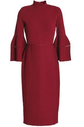 LELA ROSE Stretch-knit dress
