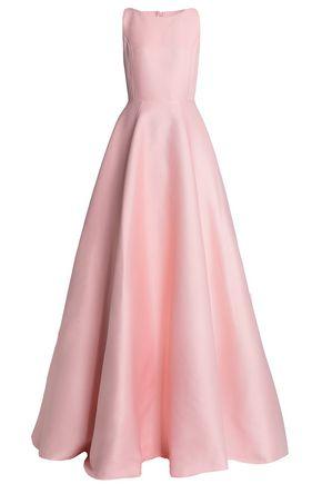 SAFIYAA Flared jacquard gown