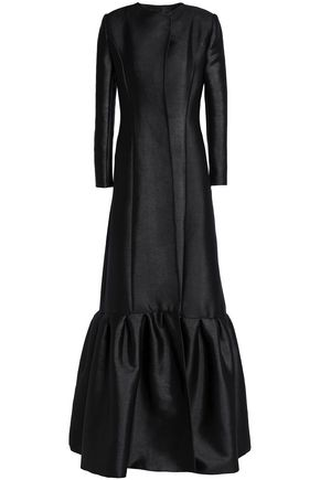 SAFIYAA Fluted jacquard gown