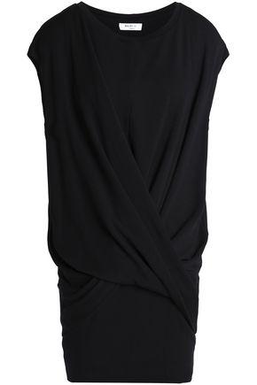 BAILEY 44 Gathered stretch-modal fleece mini dress