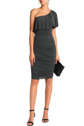 BAILEY 44 Roomba one-shoulder ruched stretch-jersey dress