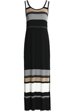 BAILEY 44 Striped stretch-jersey maxi dress