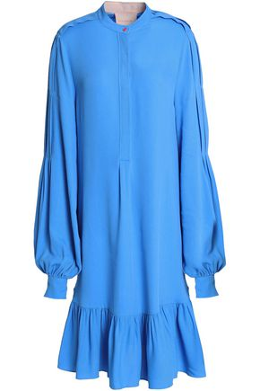 ROKSANDA Ruffled crepe dress