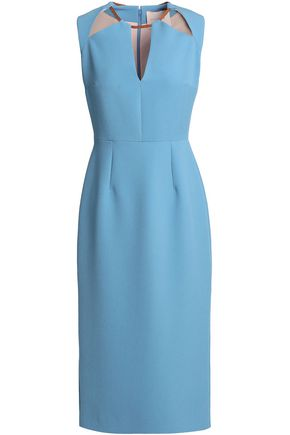 ROKSANDA Cutout crepe dress