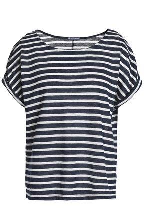 PETIT BATEAU Striped slub linen-jersey T-shirt