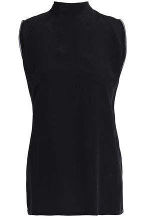 AMANDA WAKELEY Silk crepe de chine blouse