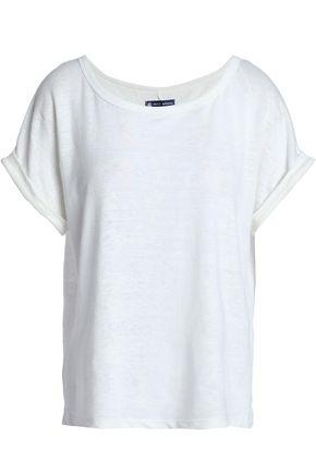 PETIT BATEAU Slub linen-jersey T-shirt