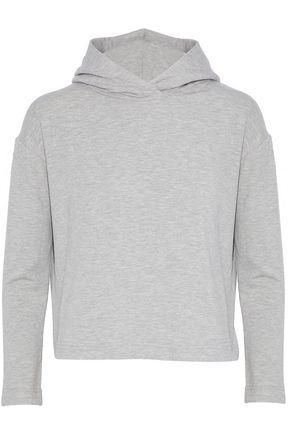 ENZA COSTA Fleece hoodie
