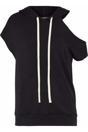 BAILEY 44 Sharm El Sheikh cutout stretch-modal fleece hoodie