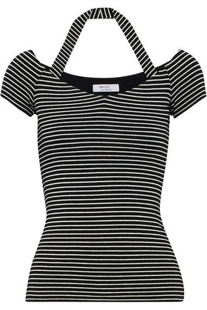 BAILEY 44 Kiss And Tell striped stretch-jersey T-shirt