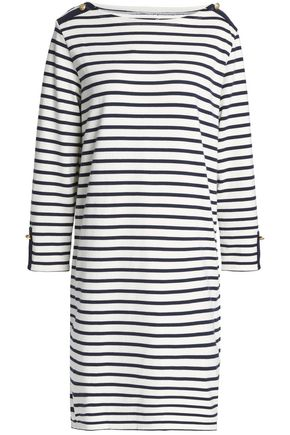PETIT BATEAU Striped cotton-jersey dress