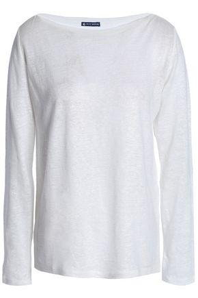 PETIT BATEAU Slub linen-jersey top