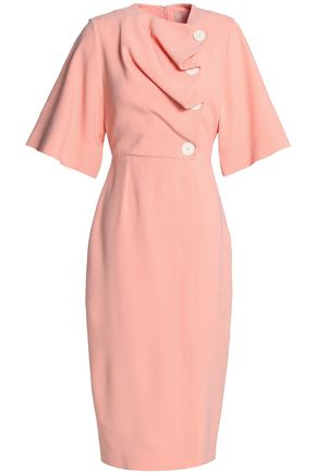 ROKSANDA Draped crepe dress