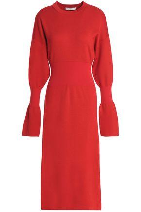 TIBI Merino wool midi dress