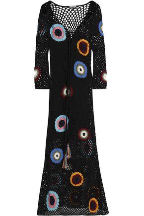 TALITHA Cotton crochet-knit maxi dress