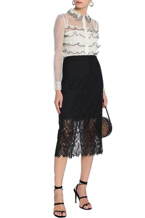 REDValentino Tiered tulle shirt