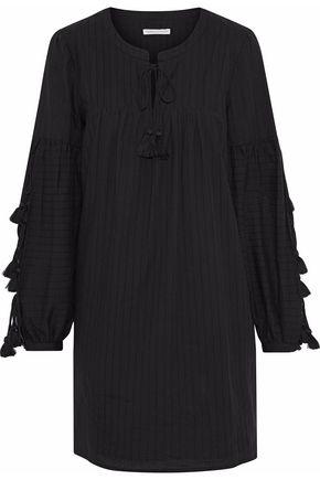REBECCA MINKOFF Dolly tasseled cotton mini dress