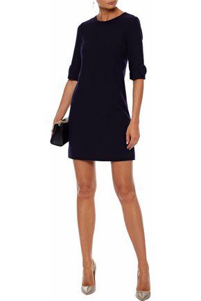 GOAT Frame button-embellished wool-crepe mini dress