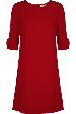 GOAT Frame button-embellished wool-crepe mini dress