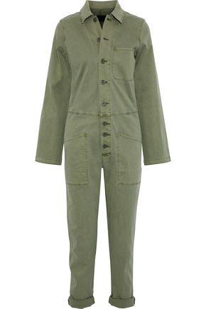 RTA Stretch-cotton twill jumpsuit