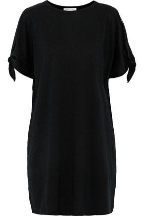 REBECCA MINKOFF Syringa cutout cotton-jersey mini dress