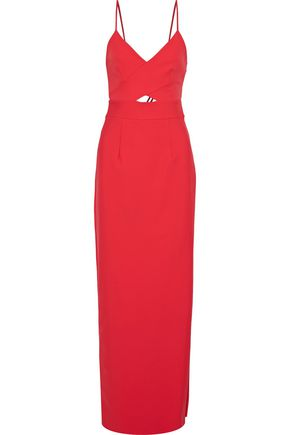 MILLY McKenna cutout neoprene gown