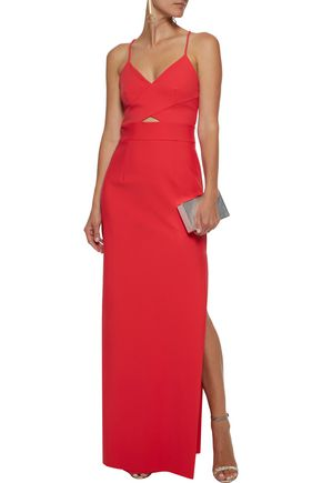 Mc Kenna Cutout Neoprene Gown by Milly