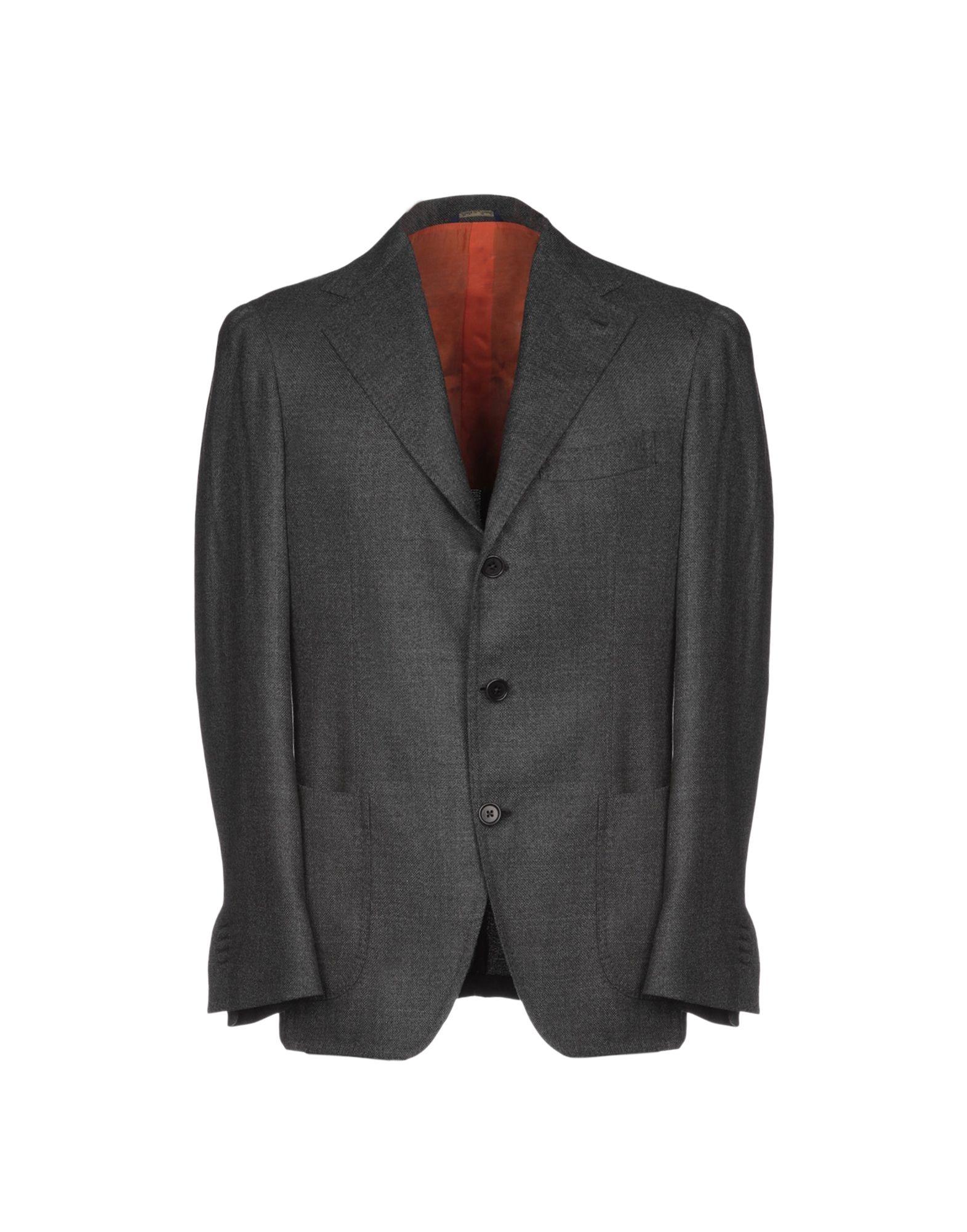 《セール開催中》DANIELE PAPA? メンズ テーラードジャケット 鉛色 50 ウール 100%