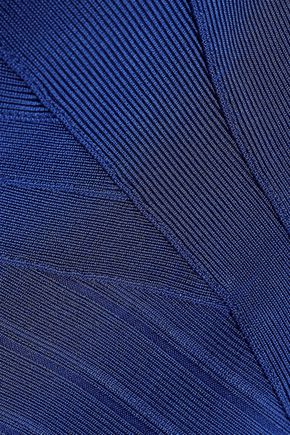 HERVÉ LÉGER Estrella cutout bandage gown