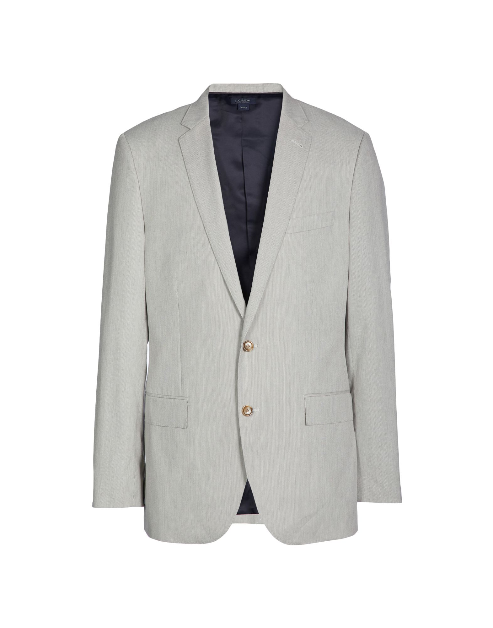 J.CREW Suit jackets. plain weave, single pocket, single chest pocket, single-breasted, fully lined, solid color, v-neck, two inside pockets, single-breasted jacket. 100% Cotton